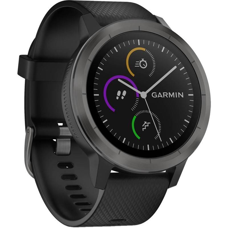 Chytré hodinky Garmin vívoActive 3 Optic (010-01769-12) čierne/sivé + Doprava zadarmo