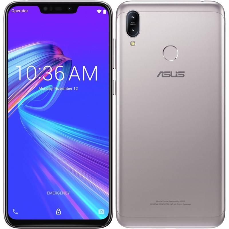 Mobilný telefón Asus ZenFone Max M2 Dual SIM (ZB633KL-4J072EU) strieborný