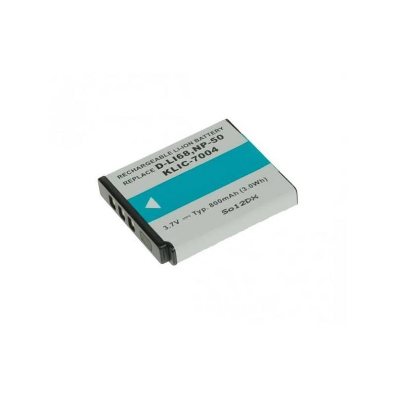 Akumulátor Avacom pro Fujifilm NP-50/Kodak KLIC-7004/Pentax D-LI68 Li-Ion 3,7V 800mAh (DIFU-NP50-532)