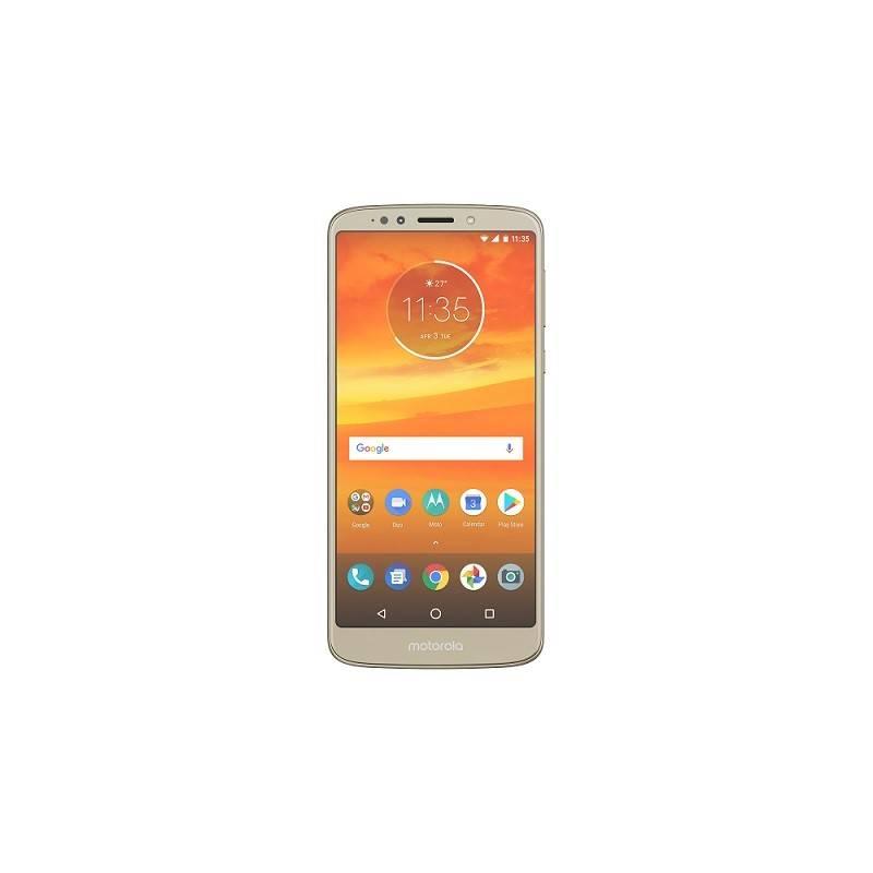 Mobilný telefón Motorola E5 Plus Dual SIM (PABA0019RO) zlatý Software F-Secure SAFE, 3 zařízení / 6 měsíců (zdarma) + Doprava zadarmo