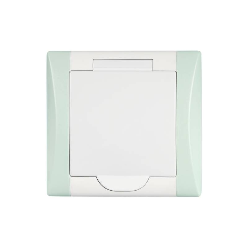 Príslušenstvo AXPIR ELEGANT, led biela/zelená