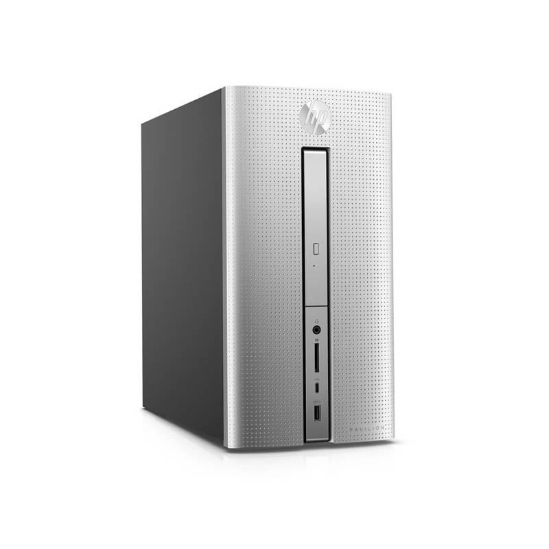 Stolný počítač HP Pavilion 570-p051nc (1JU86EA#BCM) strieborný Software F-Secure SAFE, 3 zařízení / 6 měsíců (zdarma) + Doprava zadarmo