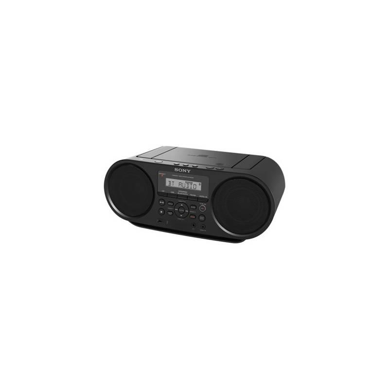 Rádiomagnetofón s CD Sony ZS-RS60BT čierny