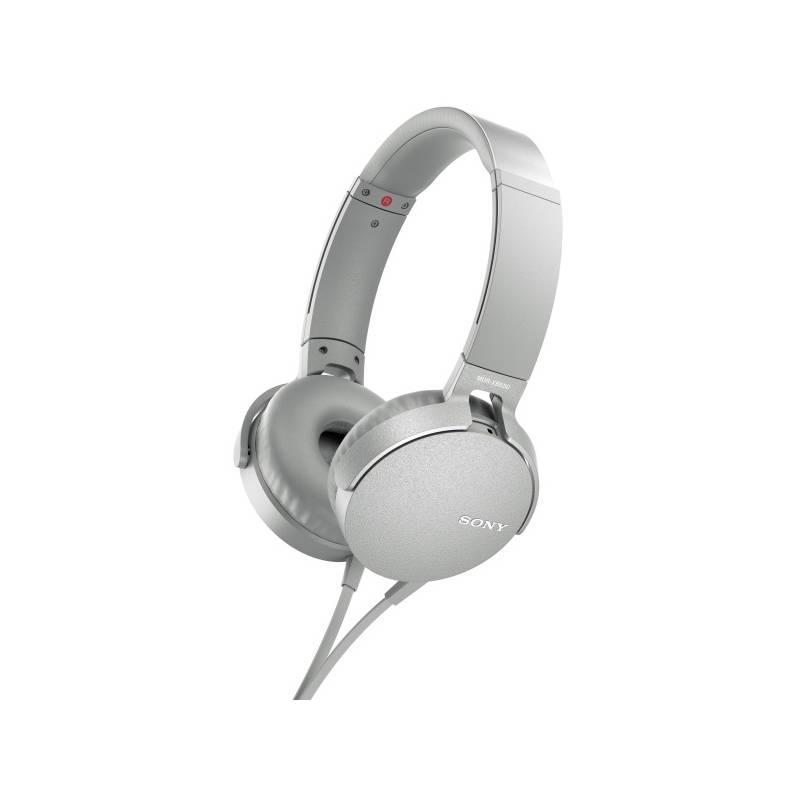 Slúchadlá Sony MDR-XB550AP Extra Bass™ (MDRXB550APW.CE7) biela