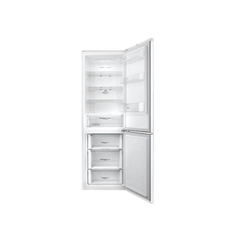 Kombinácia chladničky s mrazničkou LG GBB59SWRZS biela + Doprava zadarmo