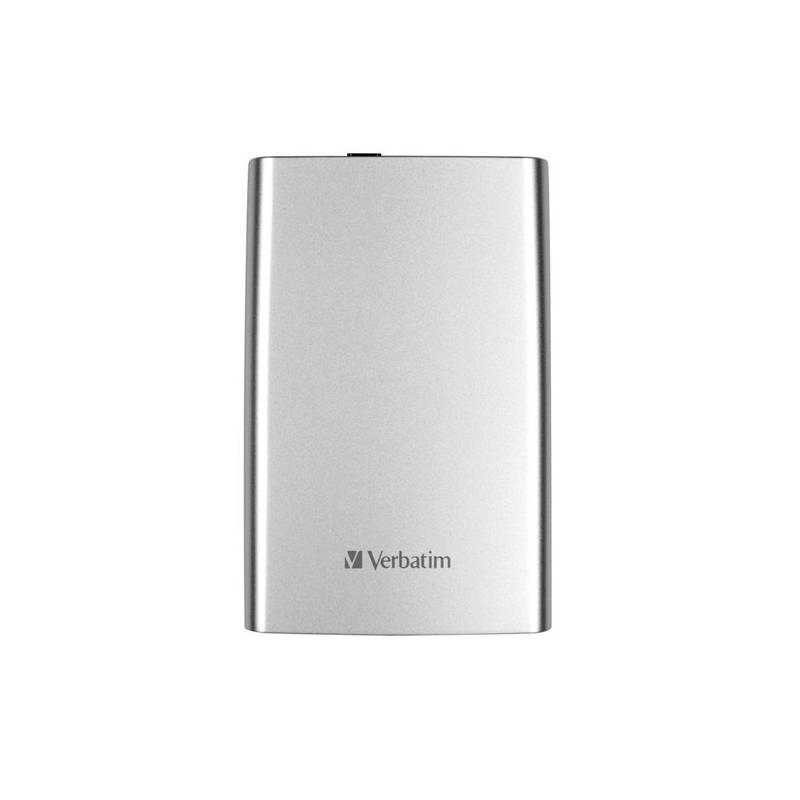 Externý pevný disk Verbatim Store 'n' Go 500GB (53021) strieborný + Doprava zadarmo