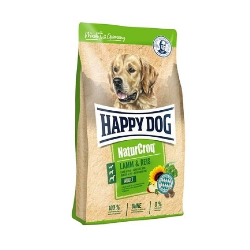 Granuly HAPPY DOG Natur-Croq ADULT Lamm&Rice 15 kg