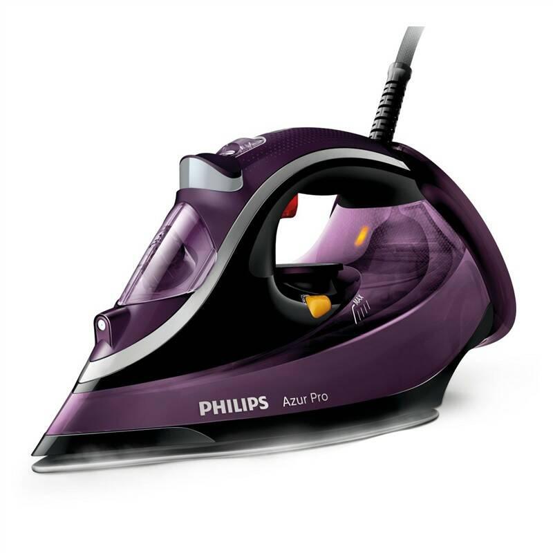 Žehlička Philips Azur Pro GC4887/30 fialová