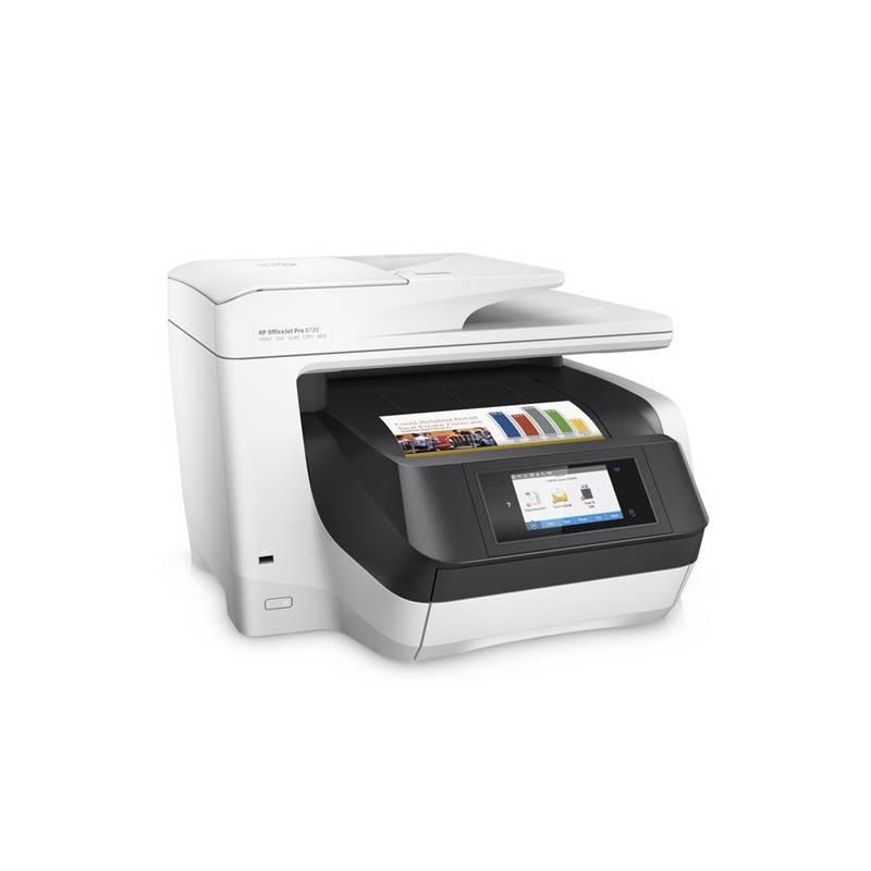 Tlačiareň multifunkčná HP Officejet Pro 8720 (D9L19A#A80) biely