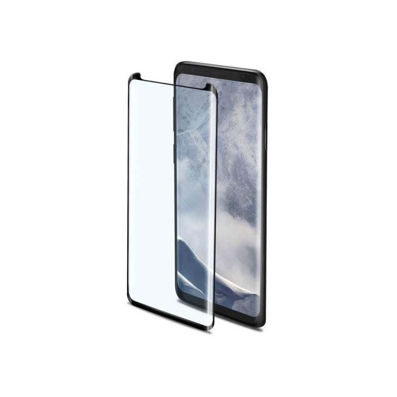 Ochranné sklo Celly Privacy 3D pro Samsung Galaxy S9 Plus (PRIVACY3D791BK) čierne