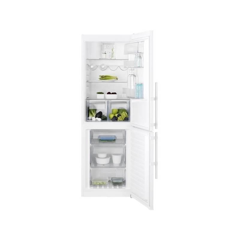 Kombinácia chladničky s mrazničkou Electrolux EN3453MOW biela + Doprava zadarmo