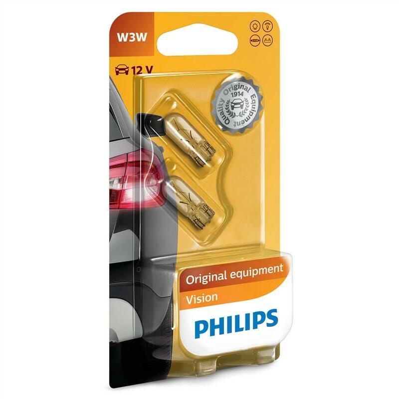 Autožiarovka Philips Vision W3W, 2ks (12256B2)