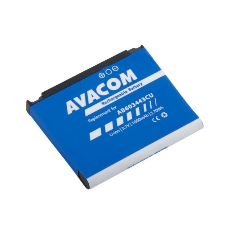 Batéria Avacom pro Samsung SGH-G800, S5230 Li-Ion 3,7V 1000mAh (GSSA-G800-S1000)