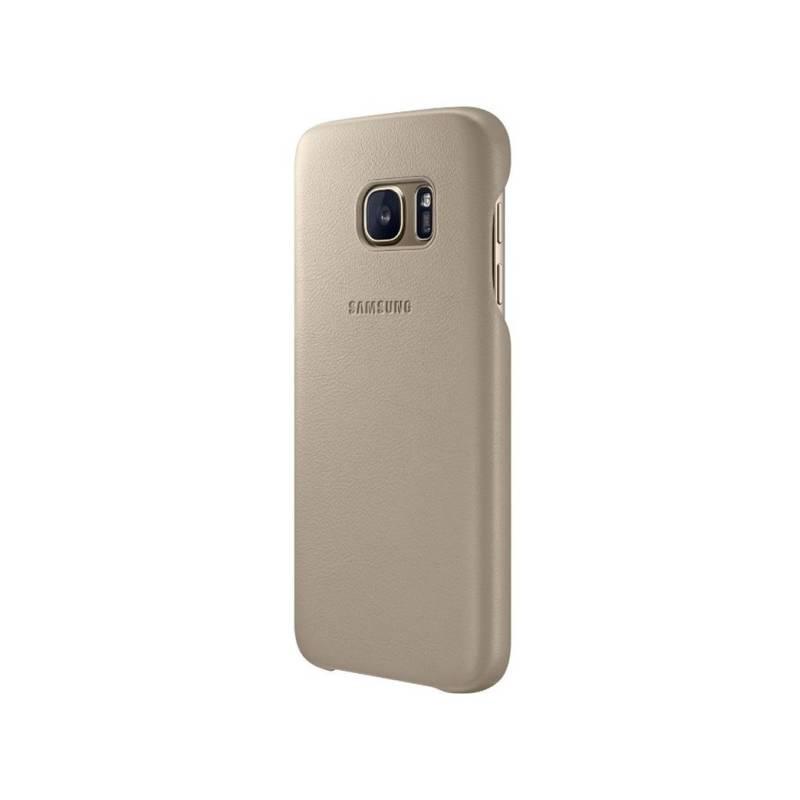 Kryt na mobil Samsung pro Galaxy S7 Edge kožené ( EF-VG935LU) (EF-VG935LUEGWW) béžový