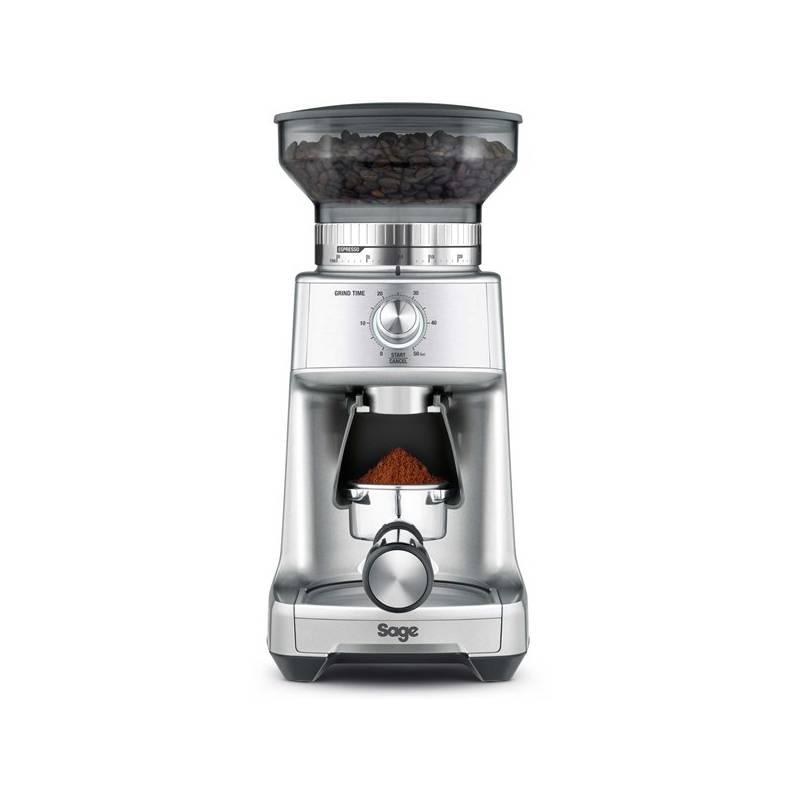 Mlynček na kávu SAGE BCG600 strieborný