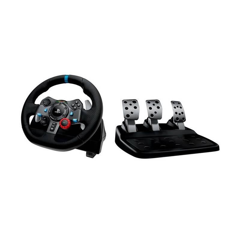 Volant Logitech G29 Driving Force pro PS3, PS4, PC + pedály (941-000112) čierny + Doprava zadarmo