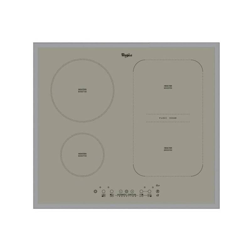 Indukčná varná doska Whirlpool ACM 808/BA/S strieborná + Doprava zadarmo