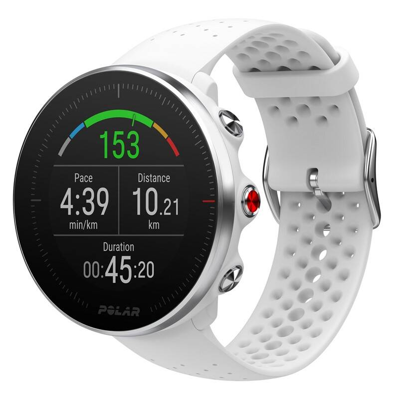 GPS hodinky Polar Vantage M, vel. S/M bílé