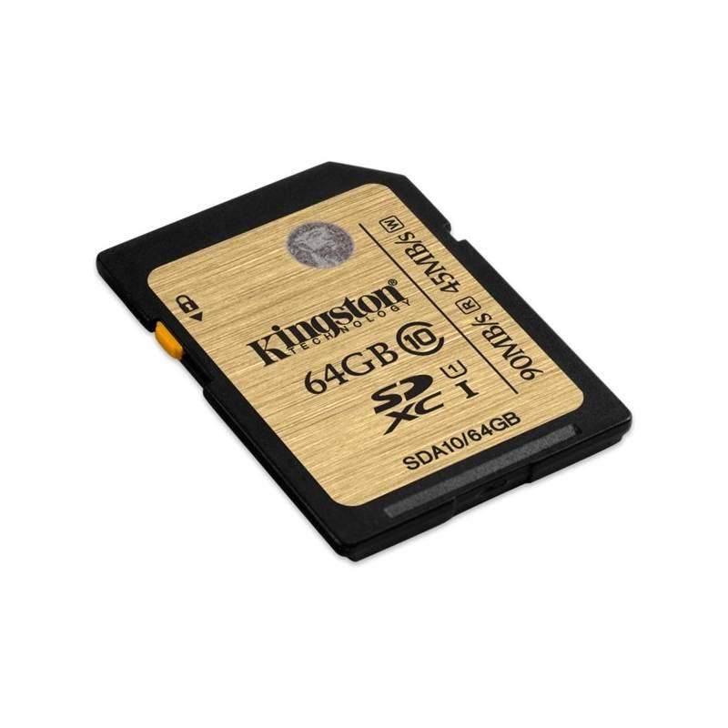 Pamäťová karta Kingston SDXC 64GB UHS-I U3 (90R/80W) (SDA3/64GB)