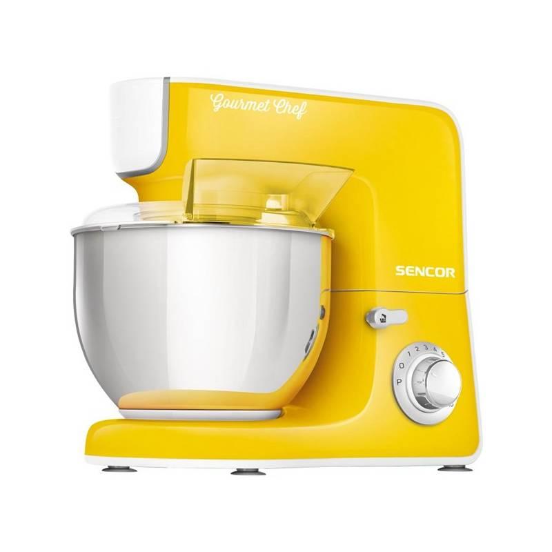 Kuchynský robot Sencor STM 3776YL žltý + Doprava zadarmo