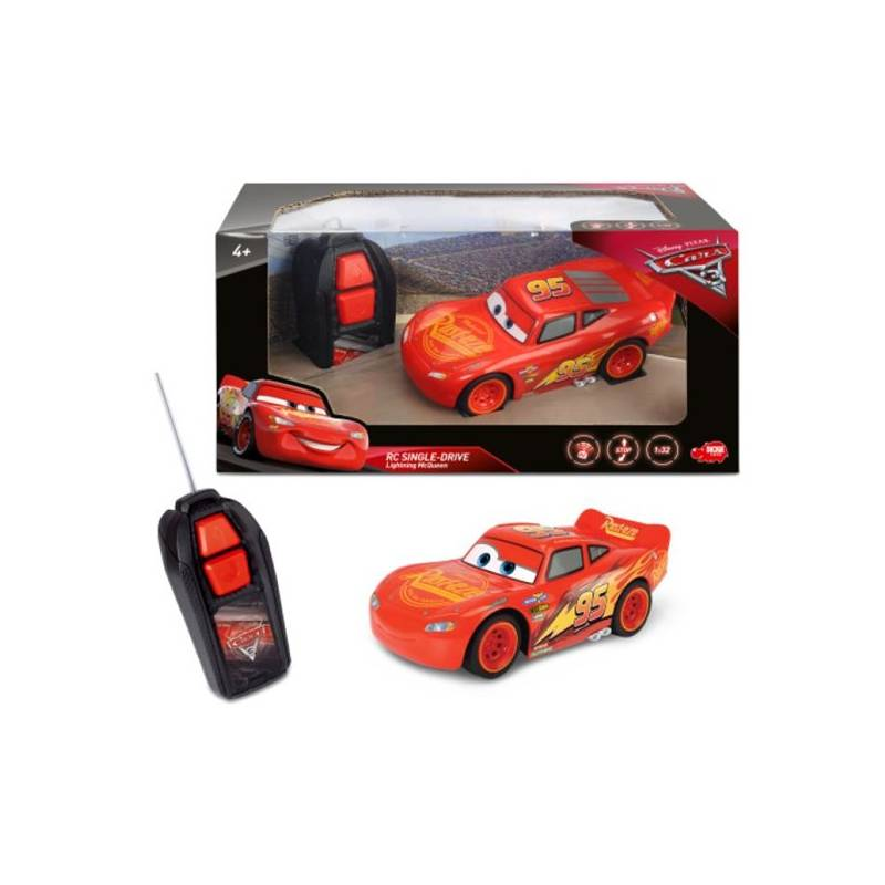RC Cars 3 Dickie Blesk McQueen Single Drive