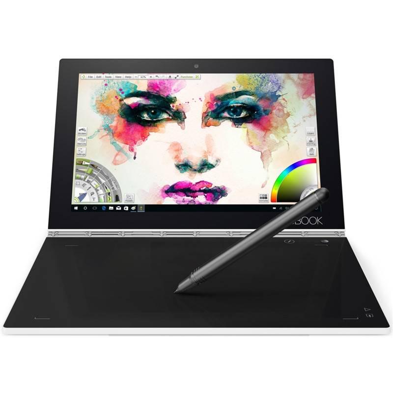 Dotykový tablet Lenovo YOGA Book (ZA150184CZ) bílý