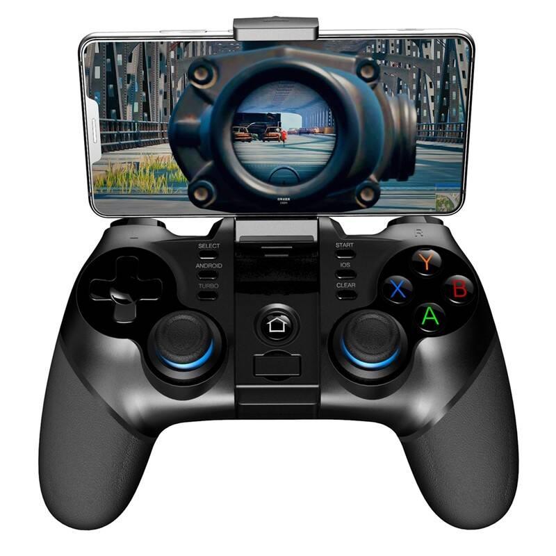 Gamepad iPega 3v1 s USB přímačem, iOS/Android, BT (PG-9156) černý