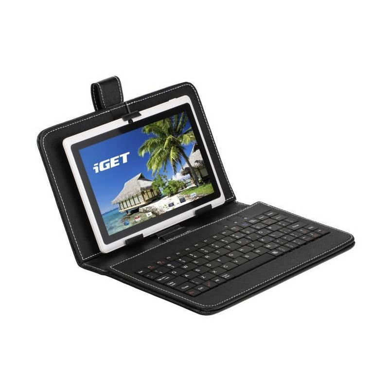 """Puzdro s klávesnicou na tablet iGET F7B univerzal, 7"""" (F7B) čierne"""