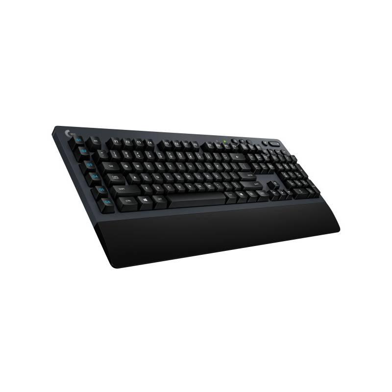 Klávesnica Logitech Gaming G613, US (920-008393) sivá