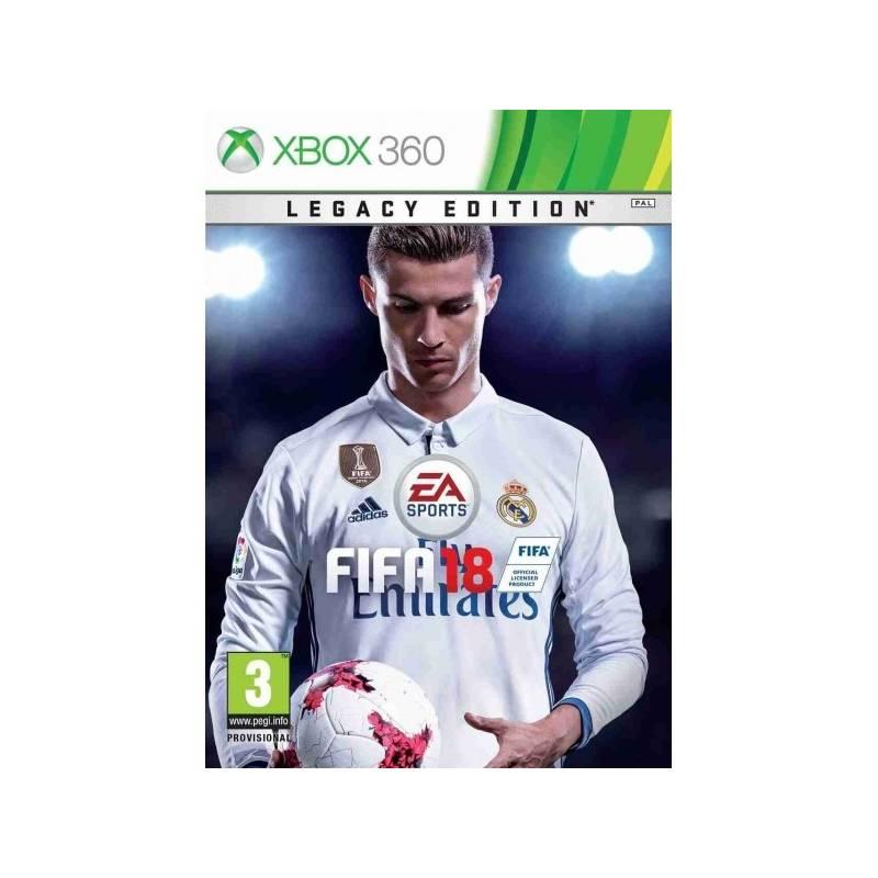 Hra EA Xbox 360 FIFA 18 (Legacy Edition) (EAX200973)