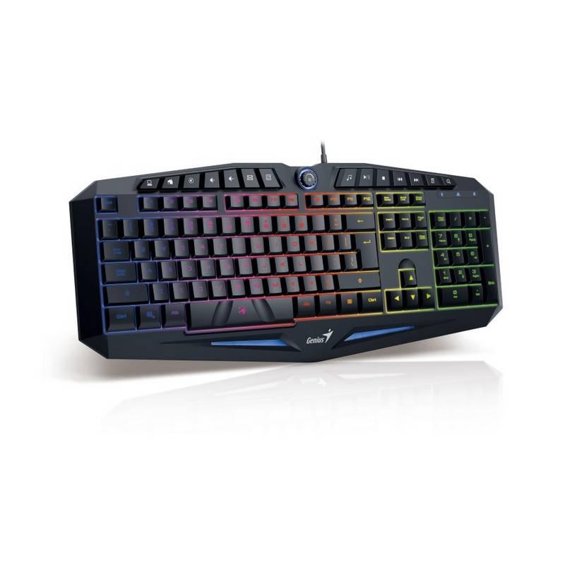 Klávesnica Genius GX Gaming K9, USB, CZ/SK (31310472104) čierna