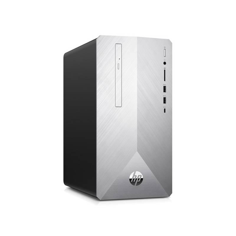 Stolný počítač HP Pavilion 595-p0013nc (4MG59EA#BCM) strieborný Software F-Secure SAFE, 3 zařízení / 6 měsíců (zdarma) + Doprava zadarmo