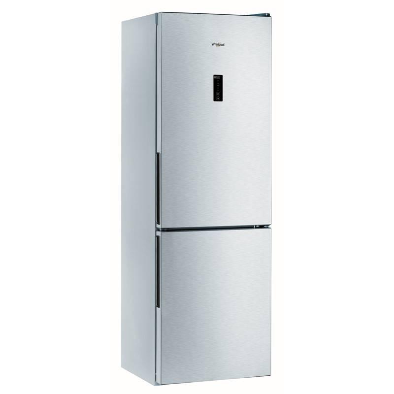 Kombinácia chladničky s mrazničkou Whirlpool WTNF 81O X nerez + Extra zľava 10 % | kód 10HOR2020 + Doprava zadarmo