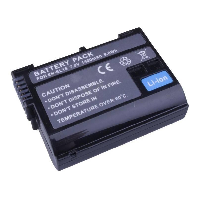 Batéria Avacom Nikon EN-EL15 Li-Ion 7.2V 1400mAh 9.8 Wh (DINI-EL15-853)