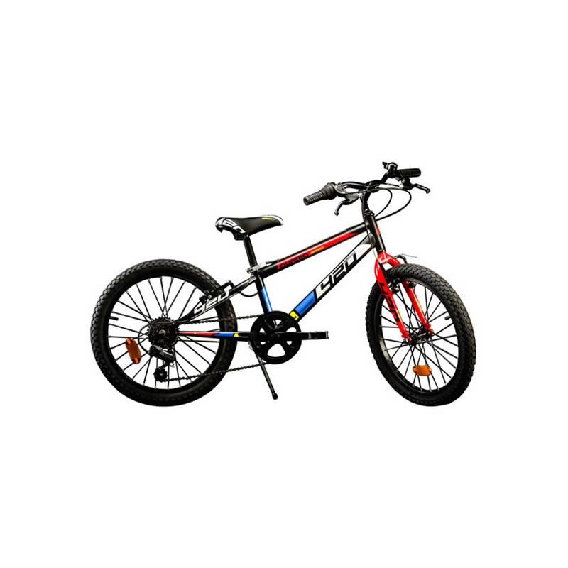 """Juniorské kolo Dino Bikes 20"""" chlapecké + Reflexní sada 2 SportTeam (pásek, přívěsek, samolepky) - zelené v hodnote 2.80 € + Doprava zadarmo"""