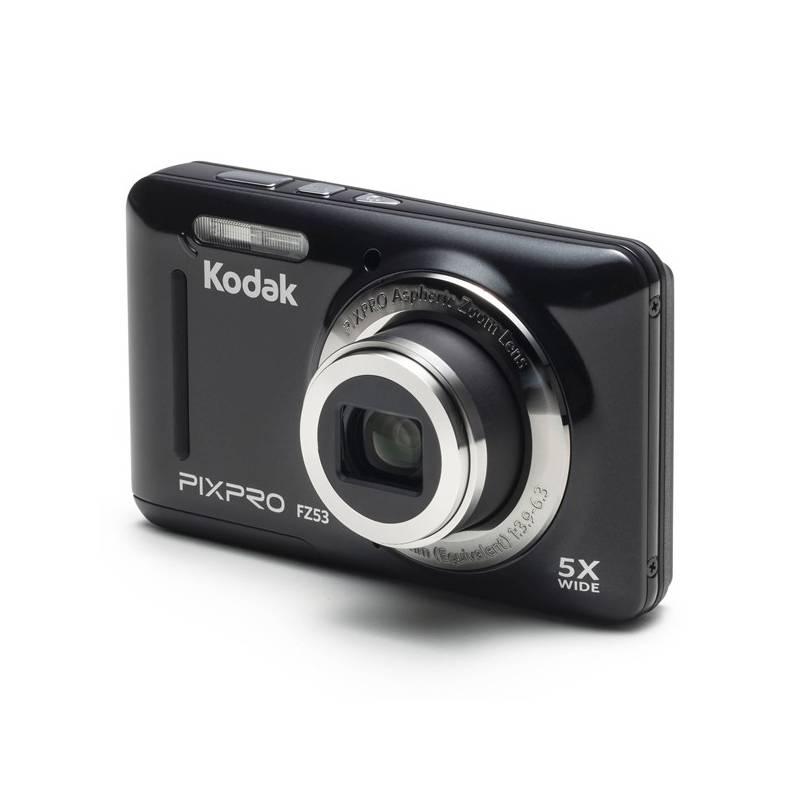 Digitálny fotoaparát Kodak FZ53 (819900012231) čierny + Doprava zadarmo