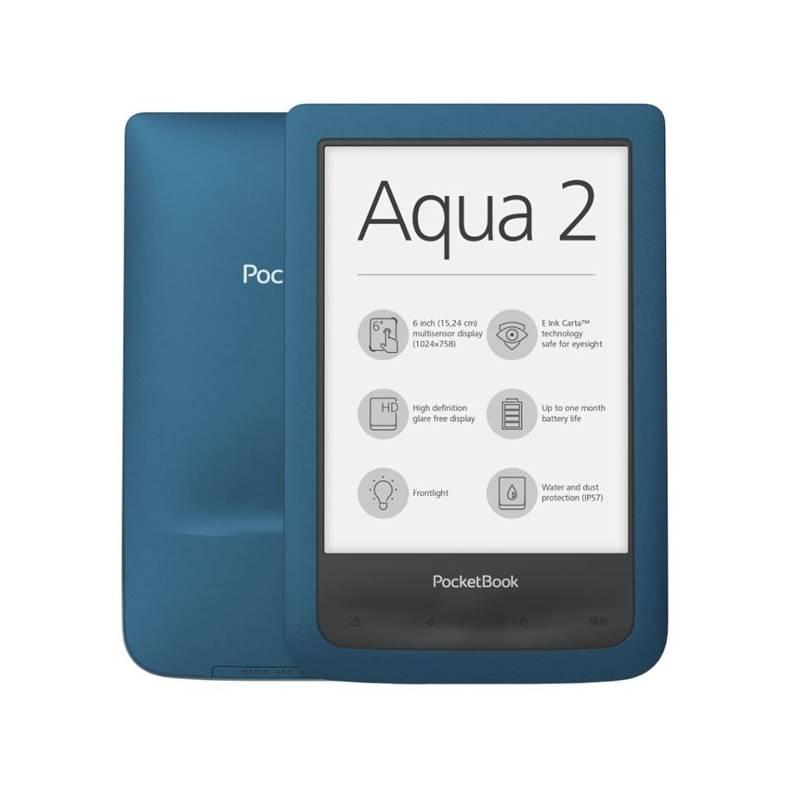 Čítačka kníh Pocket Book 641 Aqua 2 (PB641-A-WW) modrá