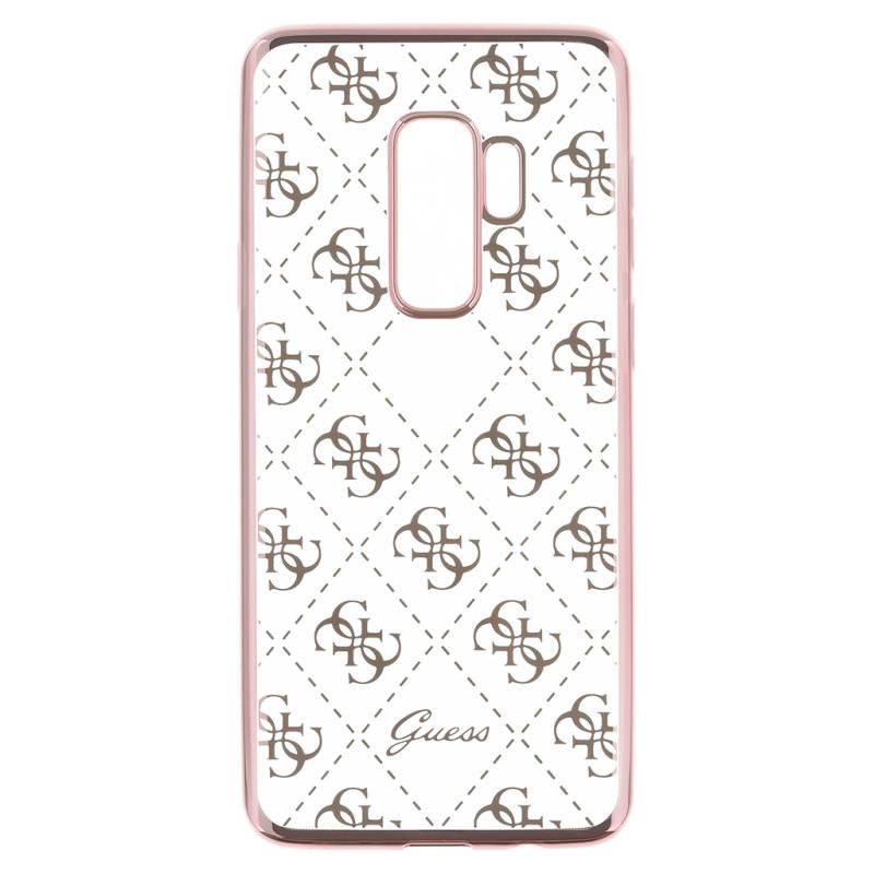 936d39848a14 Kryt na mobil Guess 4G Case pro Samsung Galaxy S9 Plus (GUHCS9LTR4GRG)  ružový