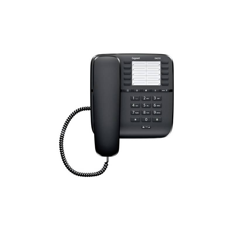 Domáci telefón Siemens Gigaset DA510 (S30054-S6530-R601) čierny