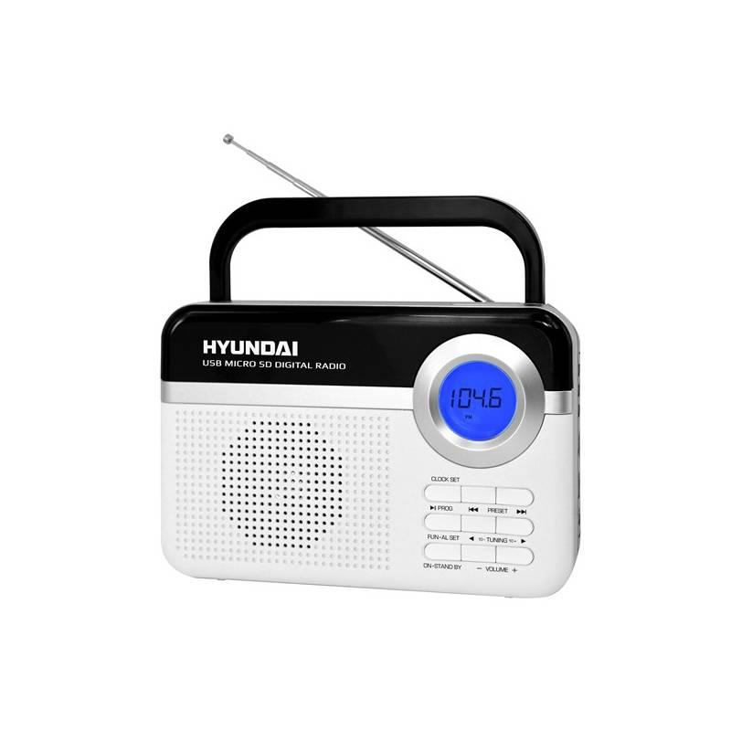 Radiopřijímač Hyundai PR 471 PLL SU WS bílý