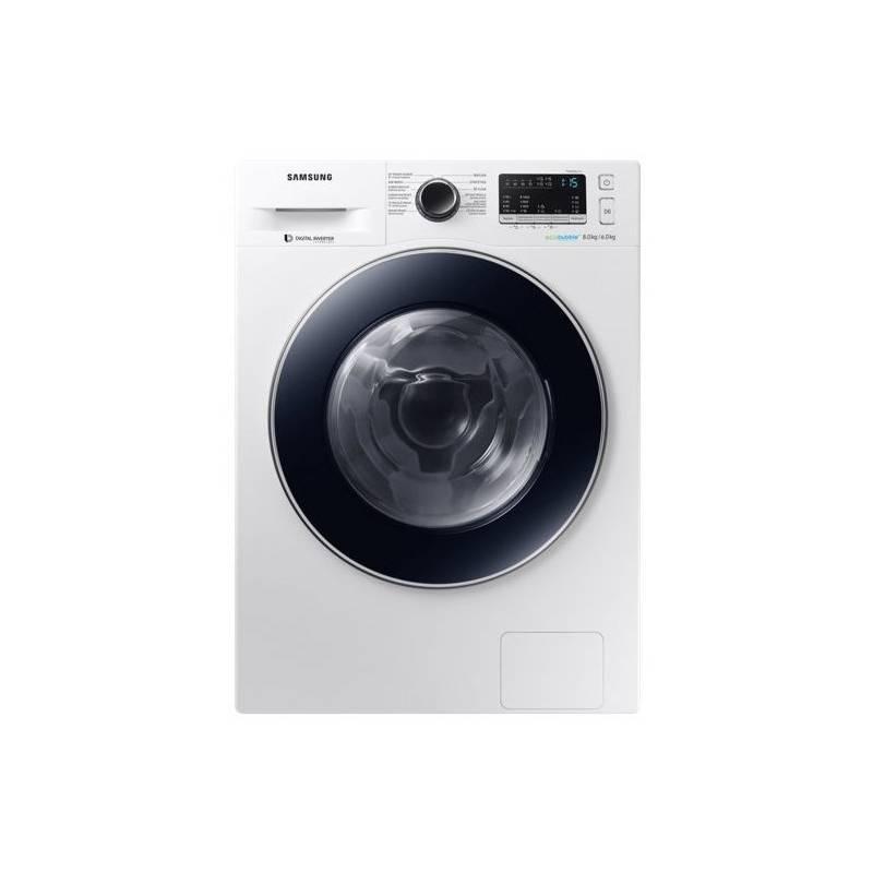 Automatická práčka so sušičkou Samsung WD80M4443JW/ZE biela + Doprava zadarmo
