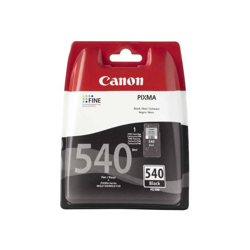 Cartridge Canon PG-540, 180 stran - originální (5225B005) čierna