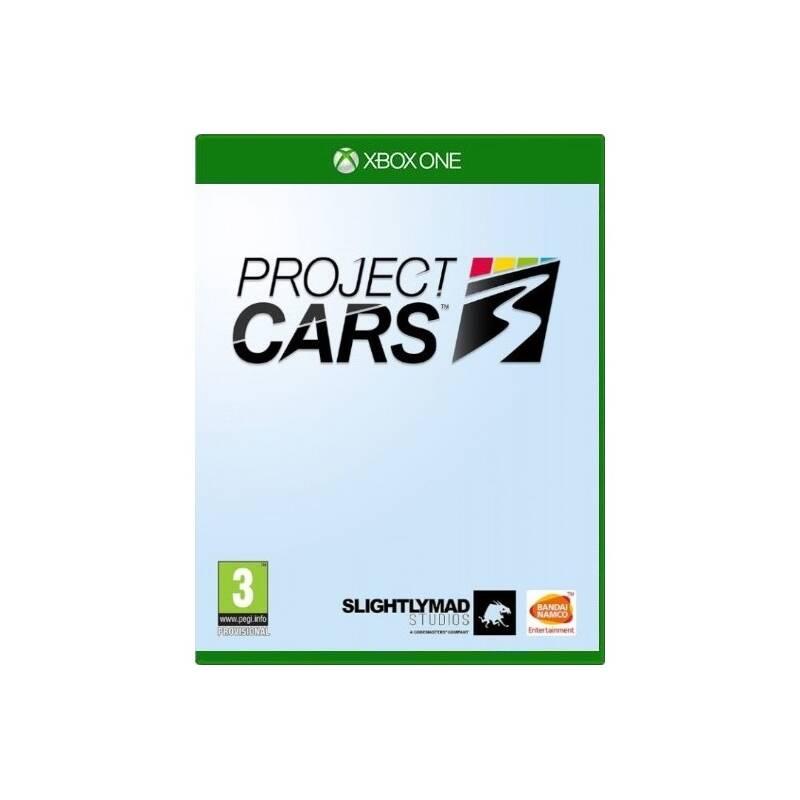 Hra Bandai Namco Games Xbox One Project Cars 3 (3391892012156)