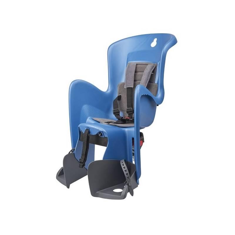 Cyklosedačka Polisport Bilby na nosič sivá/modrá + Doprava zadarmo