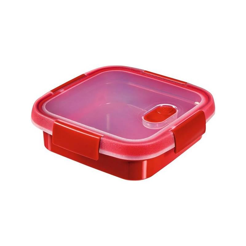 Lunchbox Curver Smart Microwave 0,6 l červený