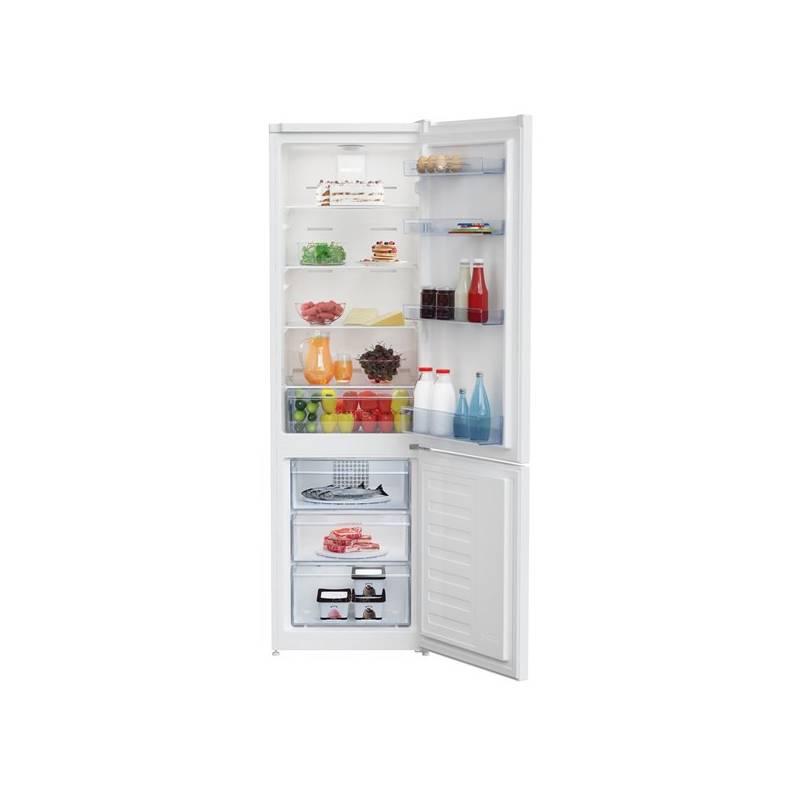 Kombinácia chladničky s mrazničkou Beko RCNA 305 K20W biela + dodatočná zľava 10 %