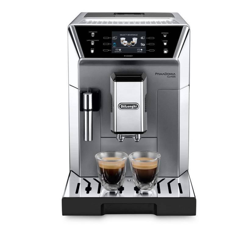 Espresso DeLonghi PrimaDonna ECAM 550.75.MS strieborné + Doprava zadarmo