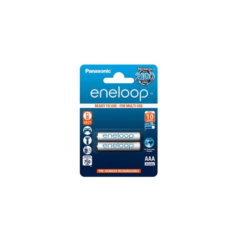 Batéria nabíjacie Panasonic Eneloop AAA, HR03, 750mAh, Ni-MH, blistr 2ks (BK-4MCCE/2BE)