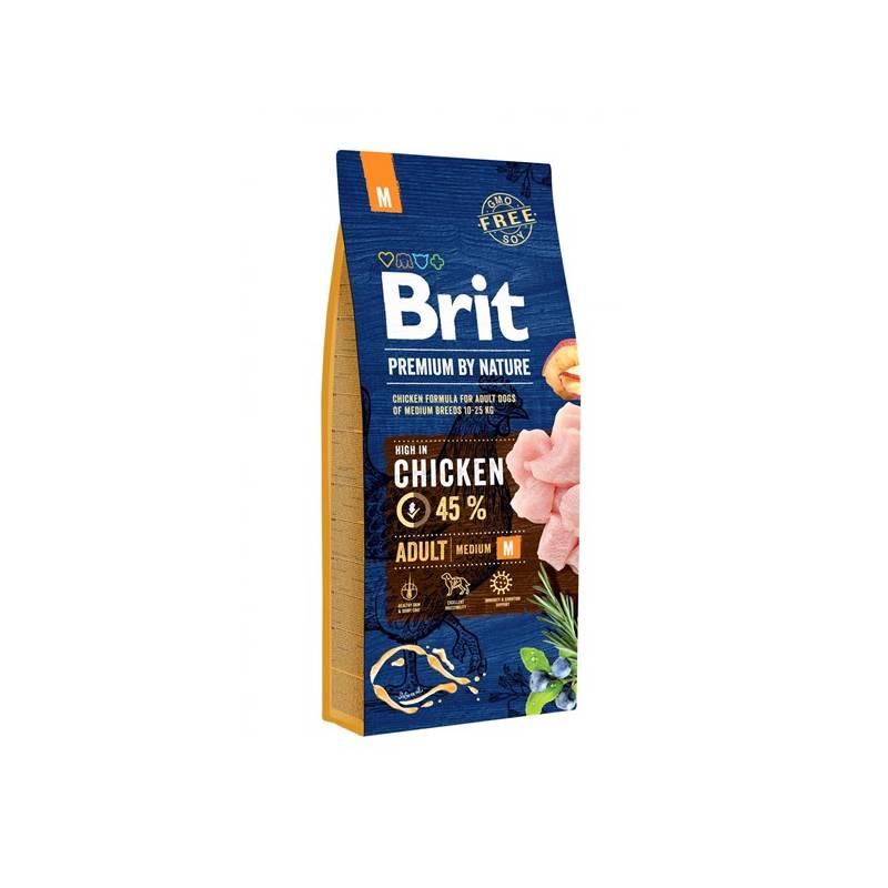Granuly Brit Premium Dog by Nature Adult M 15 kg