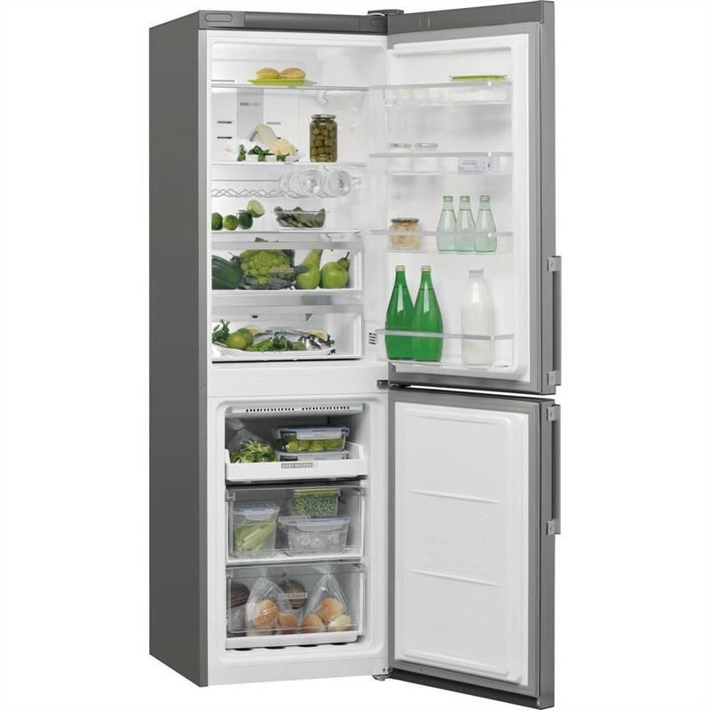 Kombinácia chladničky s mrazničkou Whirlpool W7 831T OX H nerez + Doprava zadarmo
